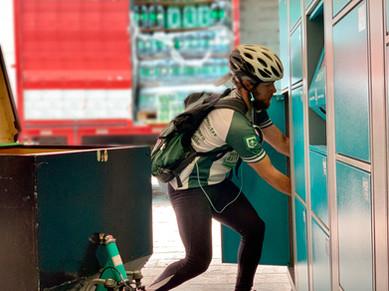 Biker - Fazendo operação last-mile