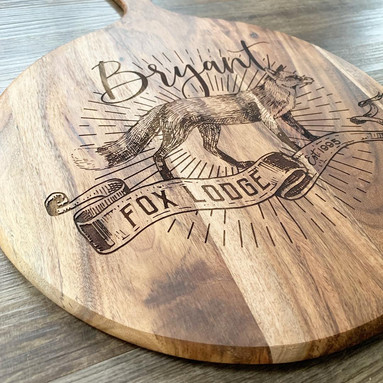 PERSONALISED CHEESE BOARDS