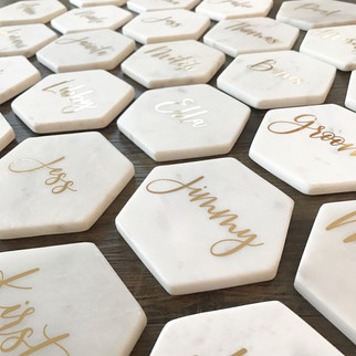 PLACE MARKERS FOR YOUR BIG EVENT