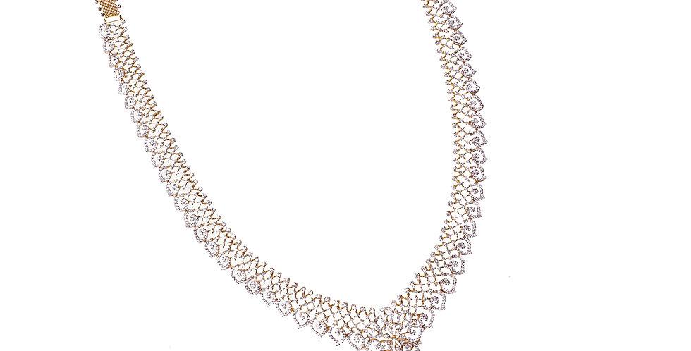 Fancy & Exquisite Long Diamond Haram Necklace