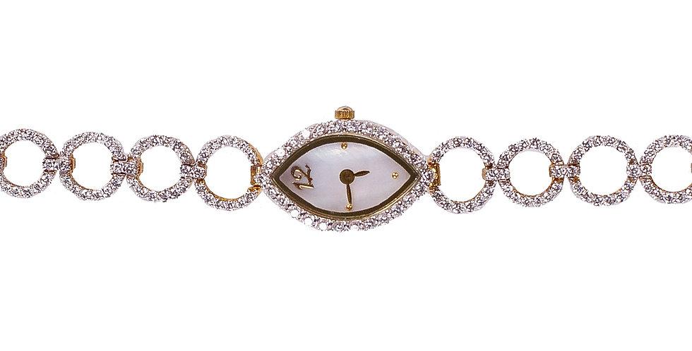 Diamond Studded Watch For Women