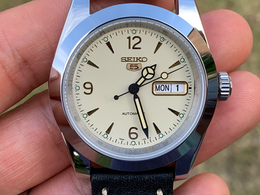 "Seiko ""Rolex Bubbleback"" watch build - vintage looks on a budget"
