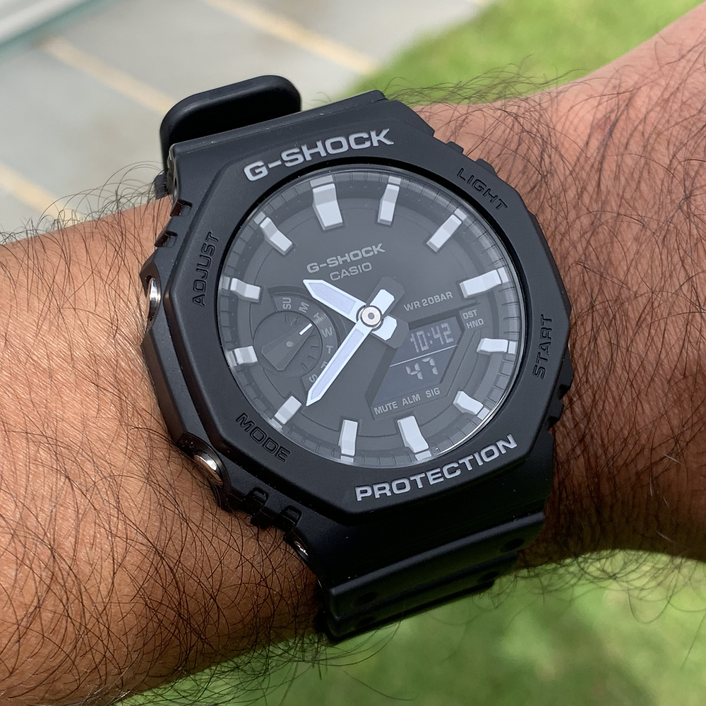 Casio G-Shock Wrist Check