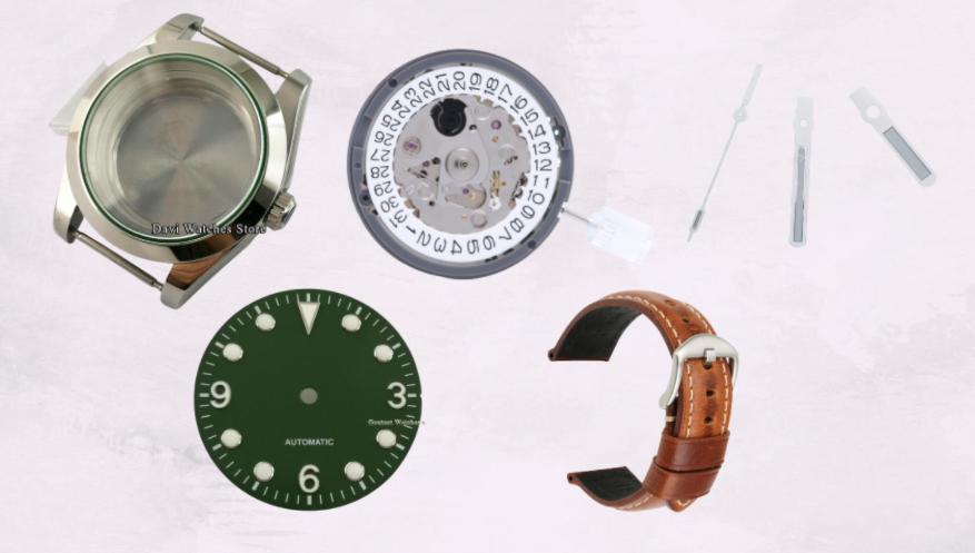 Rolex Explorer Homage Mod Watch Parts