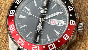 Seiko Coke build - a homage to the Rolex Coke GMT Master II