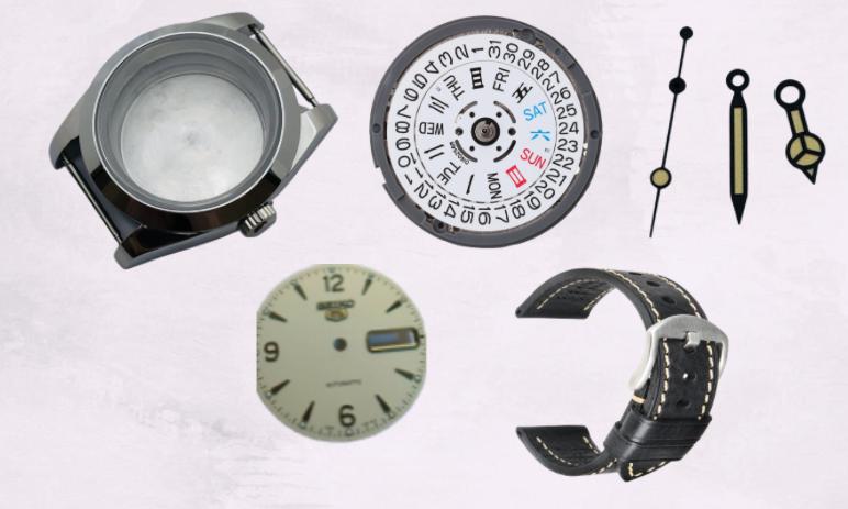 Seiko Bubbleback Homage Mod Watch Parts