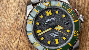 """Introducing my Seiko """"Sprite"""". Modding is all about creating something unique"""