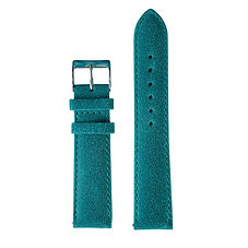 Turquoise Calf Leather Watch Strap