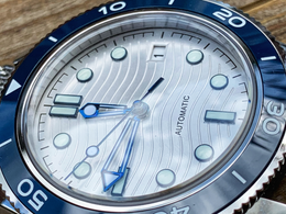 Omega Seamaster homage watch build - elements of the original with a couple of tweaks