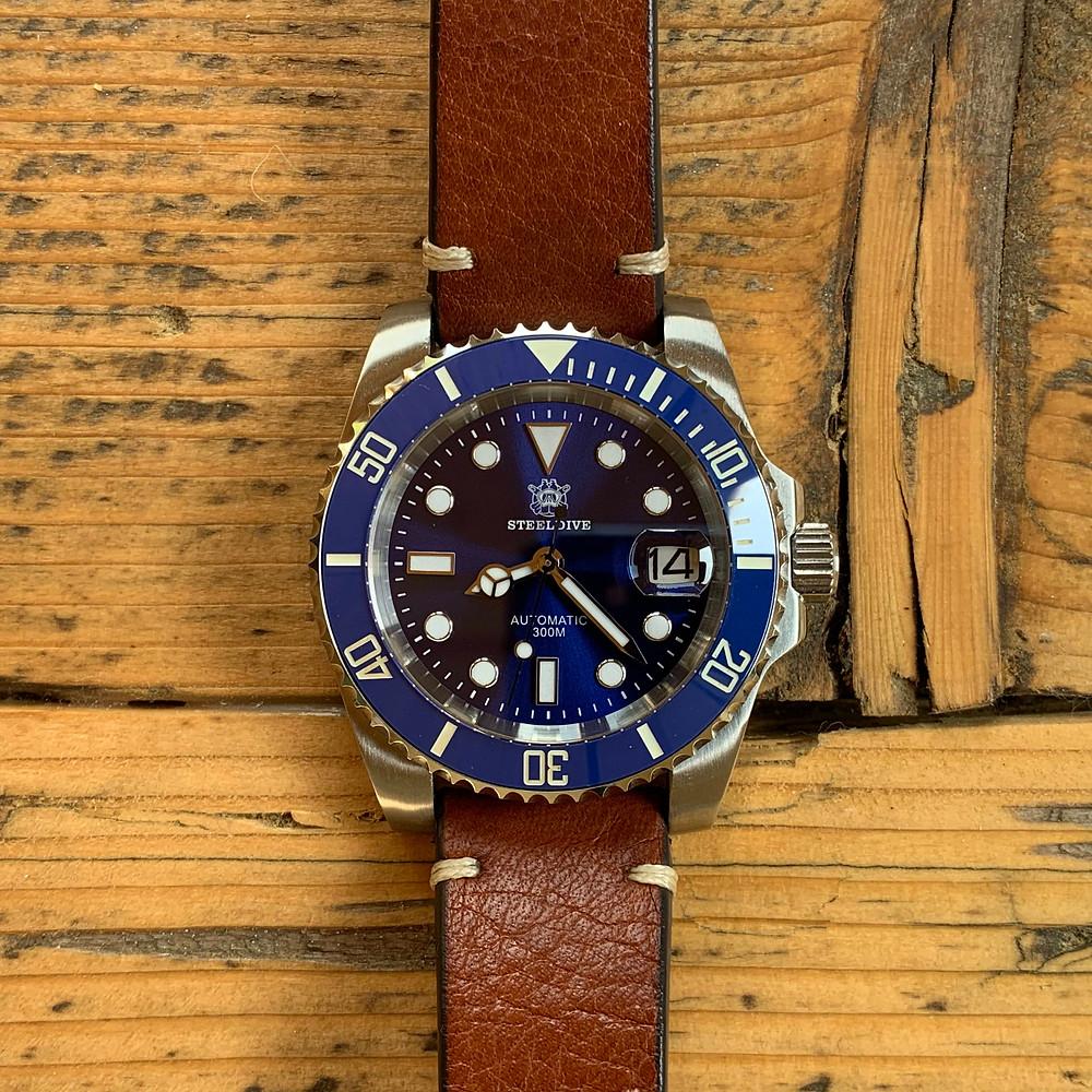 Steeldive SD1953 Rolex Submariner Homage
