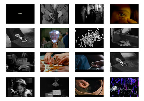 Still images - excerpt from Kino installation; 2014 - ongoing