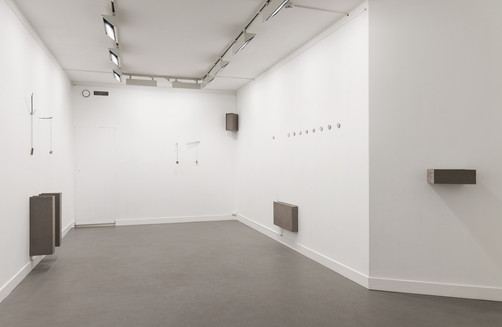 Gold Rush - installation view; part of group exhibition Everyone Says Hello, curated by Lars Sture; at Kunstnerforbundet, Oslo; 2019