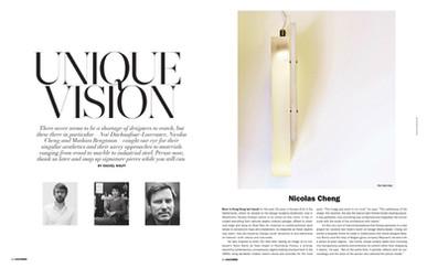 Interview by Rachel Wolff; Cultured Magazine; 2012