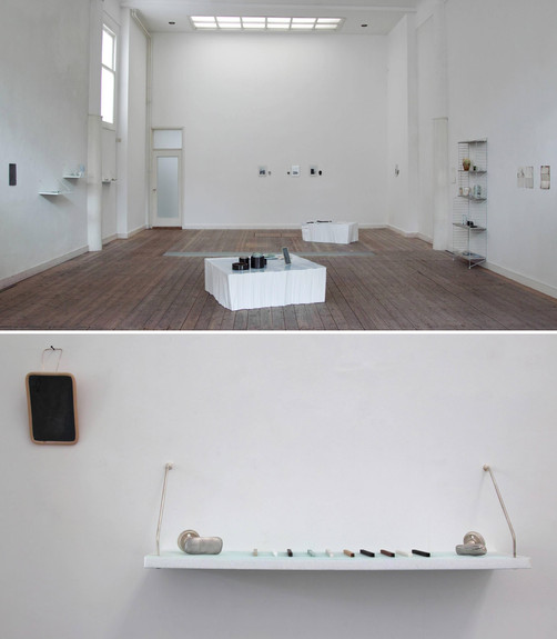 de ·cor de ·cor; Duo Exhibition at galerie de zaal, Delft; 2014