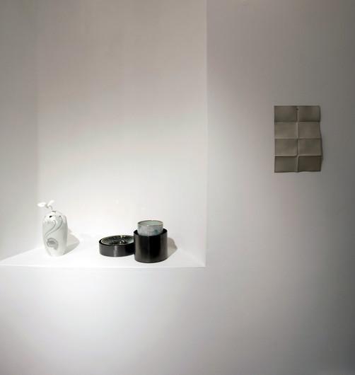 Exhibition view; Friction - Resonace, Konsthantverkarna, Stockholm; 2017