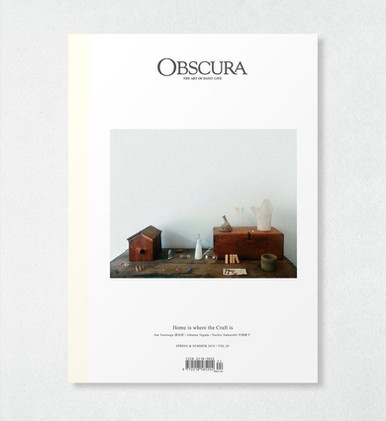 Obscura Magazine - vol. 24; interview by Ire Tsui; 2018