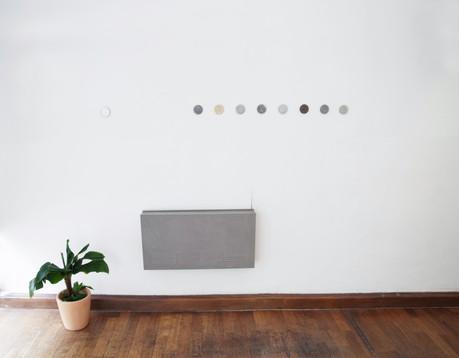 Gold Rush - installation view; at Kunstburo Reillplast with Maurer Zilioli Contemporary Arts, Munich; 2017