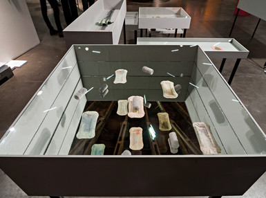 2nd edition with Bucks 'N Barter Exhibition in Amsterdam (NL), 2013; Marble, Former Dutch Colonies Banknotes
