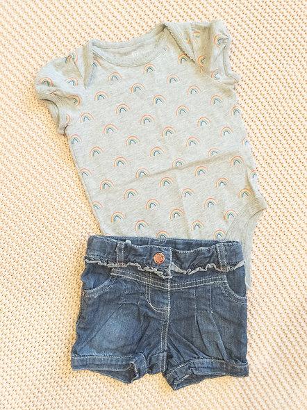 Mignonnes petites shorts 12-18 mois