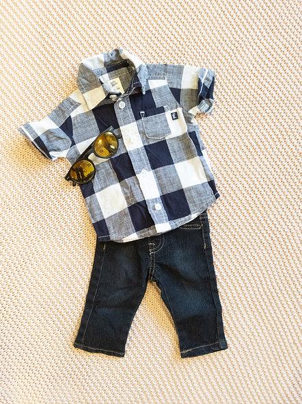 Mignon jeans Tag 3 mois
