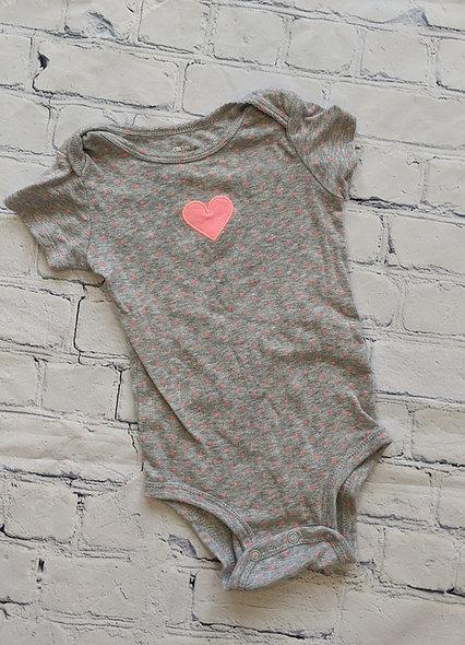 Cache-couche coeur Carter's 12 mois