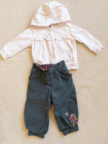 Mignon petit pantalon HM 12-18 mois
