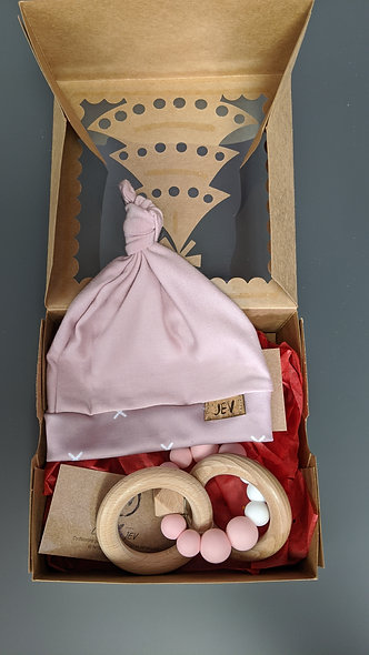Boîte cadeau naissance fille (valeur de 35 $)