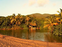 Plage en Guadeloupe