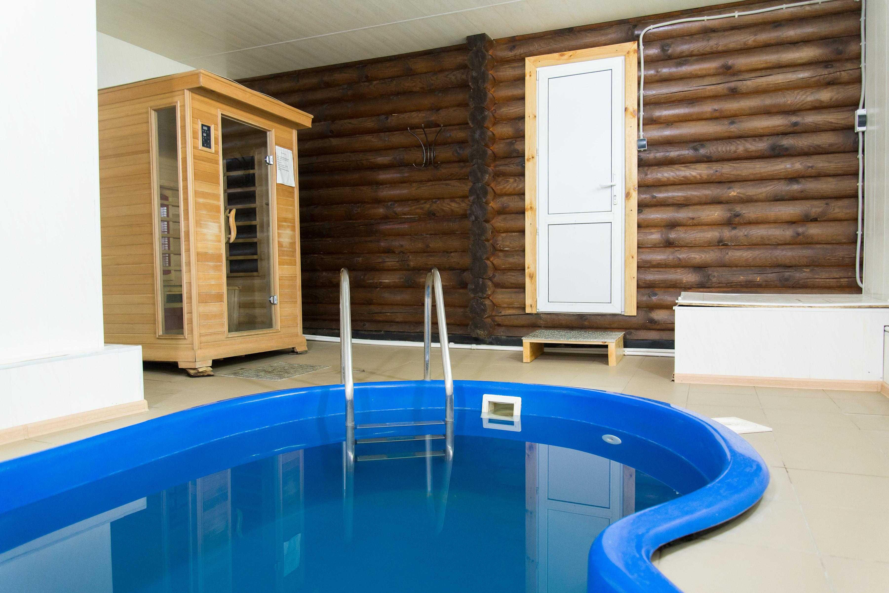 бассейн и инфракрасная сауна