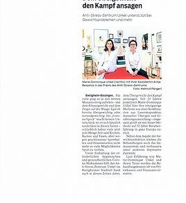 Bericht Bietigheimer Zeitung 02.02.2021.