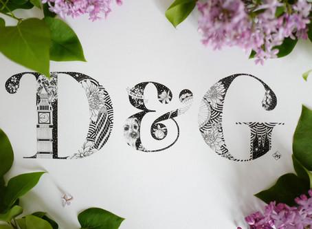 D&G Wedding Gift Monogram