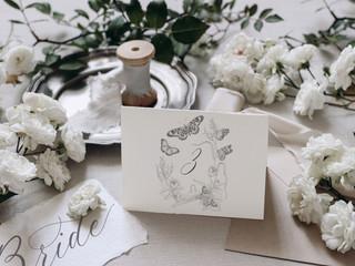 Simona-Illustrates-Grey-Butterfly-Wreath