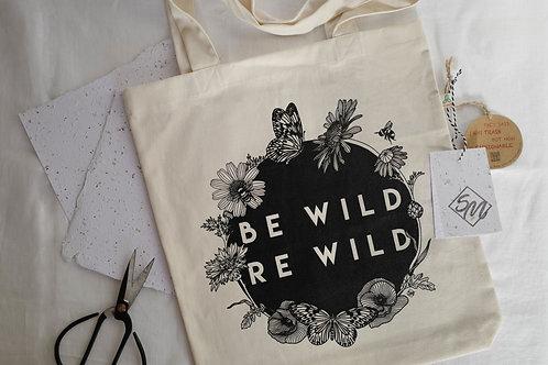 Eco Wildflower Tote Bag