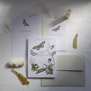 Butterfly Wreath Suite (Colour)