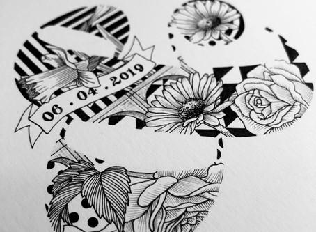 Creating a Custom Wedding Monogram