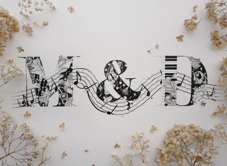 A Magical Custom Wedding Monogram