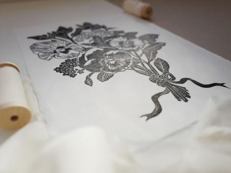 NEW Limited Edition Simona Illustrates Lino Prints
