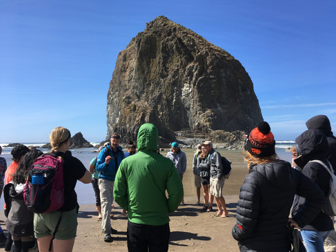 Tidepooling at Cannon Beach