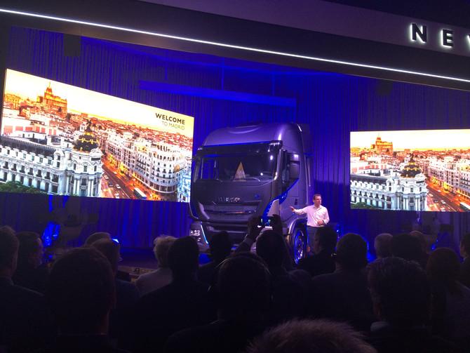 Prezentacja nowego Iveco Hi-Way Madryt