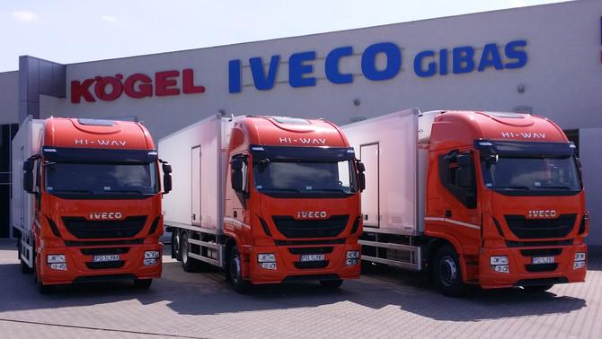 Wydanie pojazdów IVECO HI-WAY