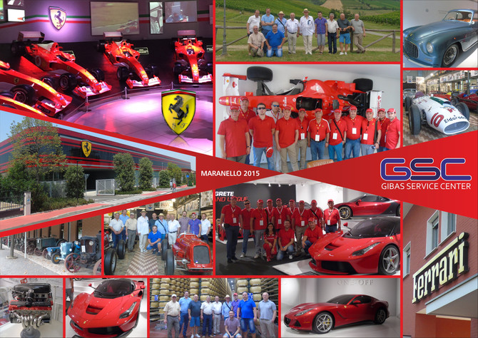 Wycieczka do fabryki Ferrari Maranello