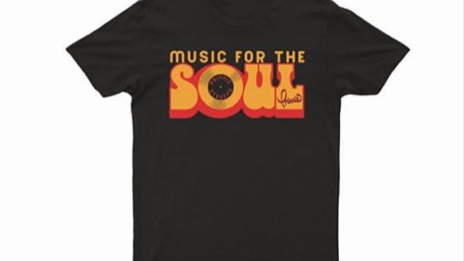 """Music For The SOUL"" Retro T shirt"