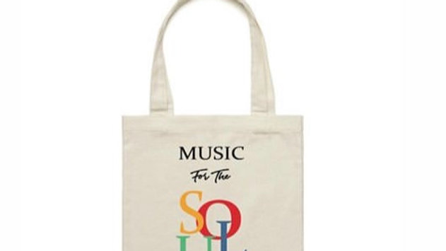 """Music For The SOUL"" Tote Bag"