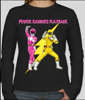 Power Rangers Playback Unisex T-shirt