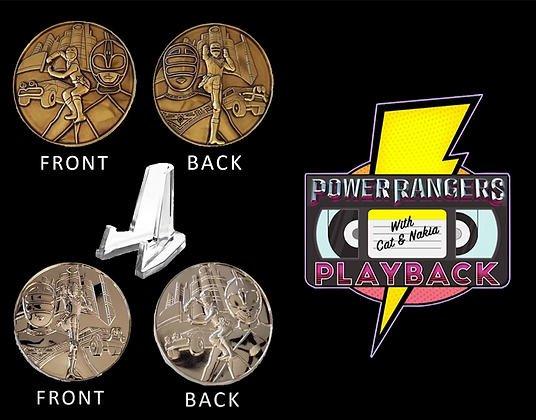 Double Sided Power Ranger Coin