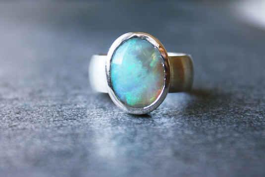 Opal-Ring-Umarbeitung