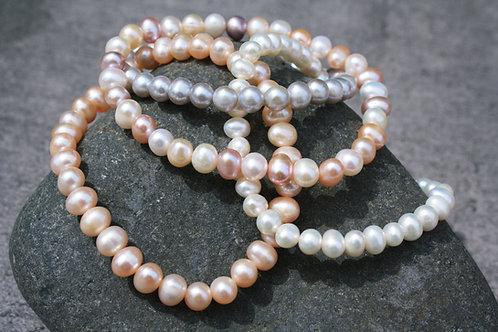 Echte Süßwasser-Perlenarmbänder