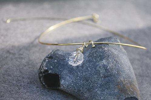 "Bergkristall - Collier ""Jasmin"""