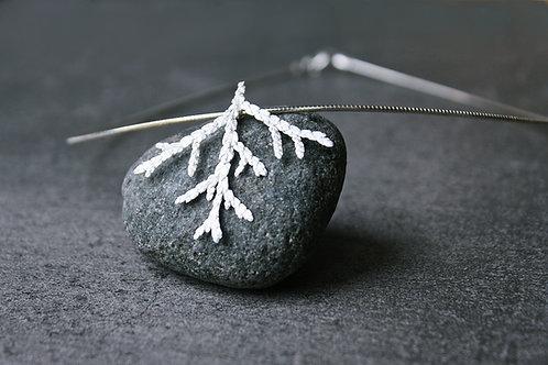 """Silbercollier """"Weiße Weihnacht"""""""