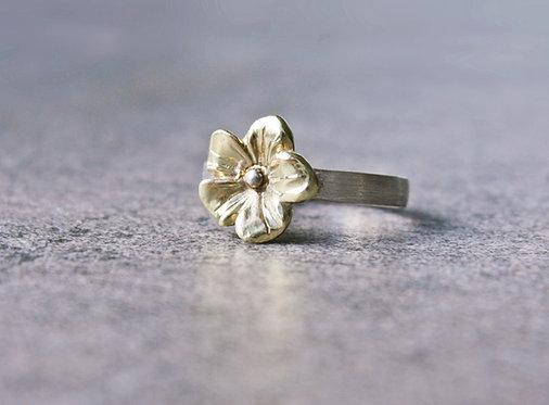 "Blütenring ""Lilie"""
